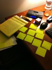 post-it-notes legal pad