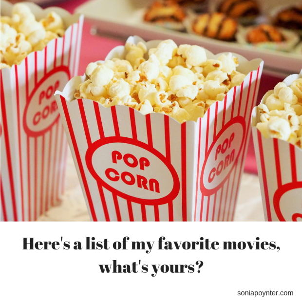 Here's a list of my favorite movies, what's yours instagram